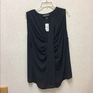 Lane Bryant Black Blouse Sz.24